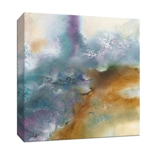 """PTM Images 9-147119  PTM Canvas Collection 12"""" x 12"""" - """"Moonstone I"""" Giclee Abstract Art Print on Canvas"""