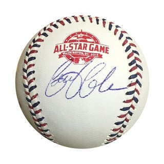 Gerrit Cole Pittsburgh Pirates Autographed 2018 All Star Game Signed Baseball PSA DNA COA
