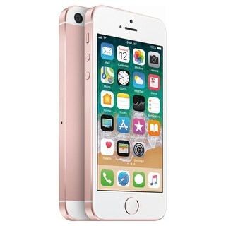 Apple iPhone SE 16GB Sprint 4G LTE Phone w/ 12MP Camera - Rose Gold - Rose Gold