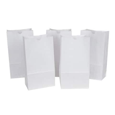 Rainbow (2 pk) white rainbow bags 50 per pk 72005bn