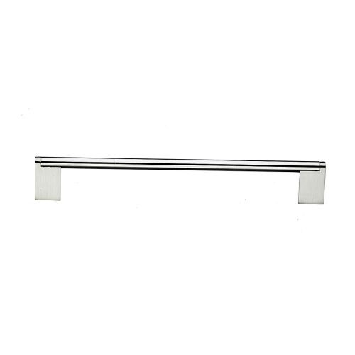 "Top Knobs M1046 Princetonian 15"" Center to Center Handle Cabinet Pull from the Bar Pulls Series - Brushed Satin Nickel"