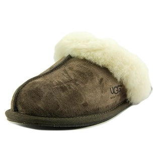 Ugg Australia Scuffette II Women Round Toe Suede Brown Slipper
