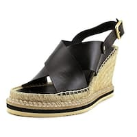 André Assous Womens emily Leather Open Toe Casual Platform Sandals