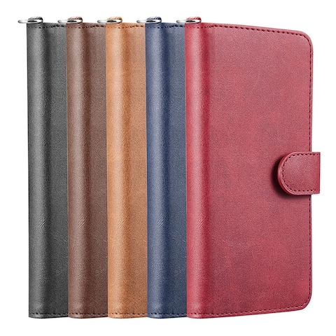 Leather Flip Cover Secure Magnetic Wallet Case for Samsung Galaxy A71