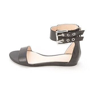 Nine West Women's Tanlines Ankle Strap Flat Sandals