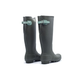 Hunter Women's Original Olive Adjustable Rain Boots