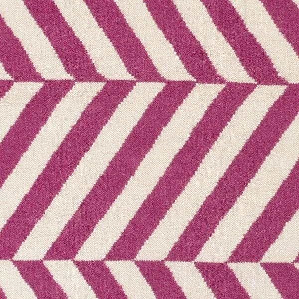 Flatweave Lugano Striped Wool Area Rug Overstock 9530103
