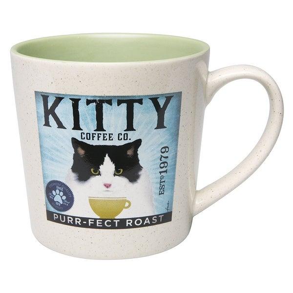Demdaco Tuxedo Cat Kitty Coffee Company Mug - Free Shipping On ...