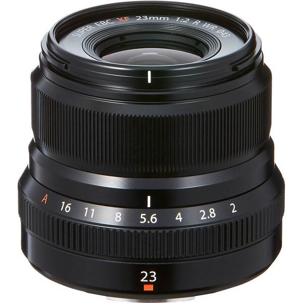 Fujifilm XF 23mm f/2 R WR Lens (Black) - black