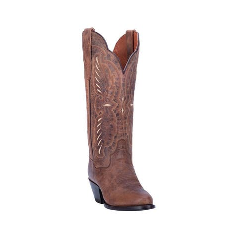 "Dan Post Western Boots Womens Tillie Round Toe 13"" Shaft"