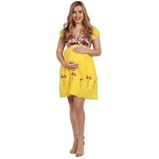 24seven Comfort Apparel Mary Kate Maternity Dress