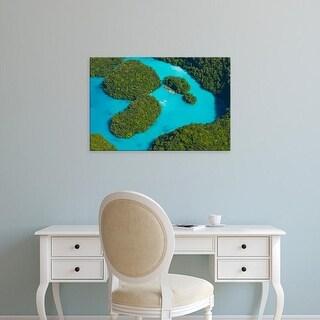 Easy Art Prints Keren Su's 'Rock Islands I' Premium Canvas Art