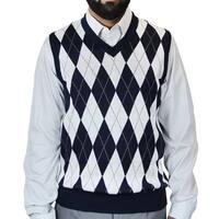 Men's Argyle Jacquard Sweater Vest