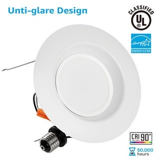 Shop 1412 pack wet location 56inch dimmable retrofit led recessed 1412 pack wet location 56inch dimmable retrofit led recessed downlight aloadofball Choice Image