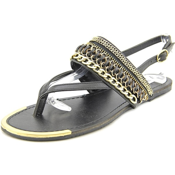 Madden Girl Vivian Open-Toe Synthetic Slingback Sandal