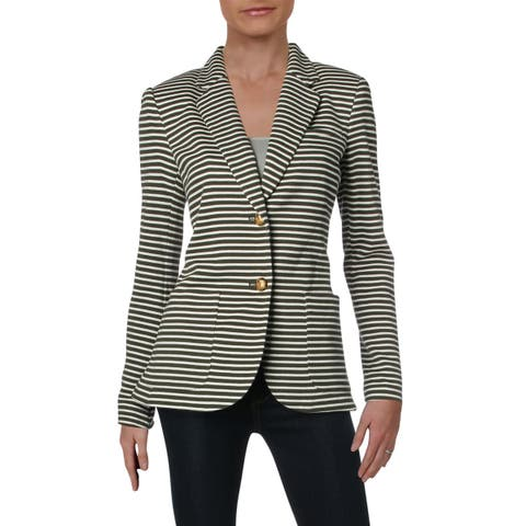 1a4156dad Lauren Ralph Lauren Womens Ronisha Two-Button Suit Jacket Suit Separate