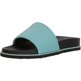 Calvin Klein Mens mackee tumbled Slip On Closed Toe Flip Flops