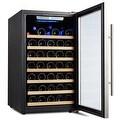 Kalamera Wine Cooler 50 Bottle Single Zone Refrigerator with Digital Temperature Display - Thumbnail 2