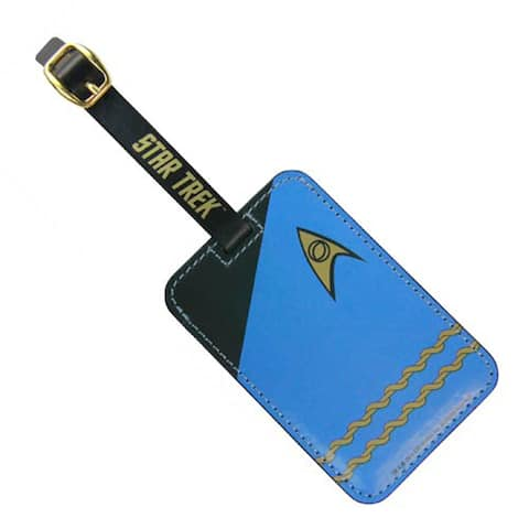 Star Trek Blue Uniform Luggage Tag - Multi