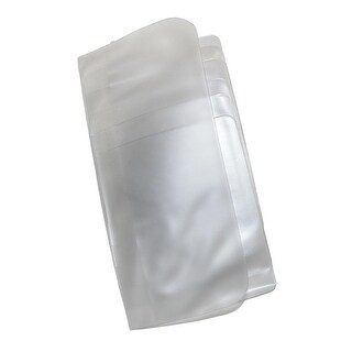 Buxton Vinyl Window Inserts for Secretary or Checkbook Wallet, Clear - One size