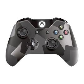 Microsoft Covert Forces Camo Grey Wireless 3.5mm Jack Controller for Microsoft Xbox One