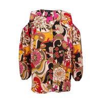 INC International Concepts Women's Plus Cold-Shoulder Blouse (18W, Pop Flower) - Pop Flower - 18W