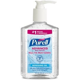 Purell Advanced Instant Hand Sanitizer Gel 8 oz