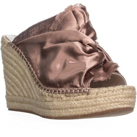 Kenneth Cole New York Odele 2 Slip On Wedge Sandals, Blush - 10 us / 41 eu