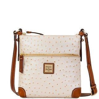 Dooney & Bourke Ostrich Embossed Leather Letter Carrier (Introduced by Dooney & Bourke at $188 in Mar 2016)