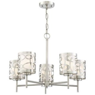 Kovacs P5715-084 5 Light Chandelier from the Links Collection