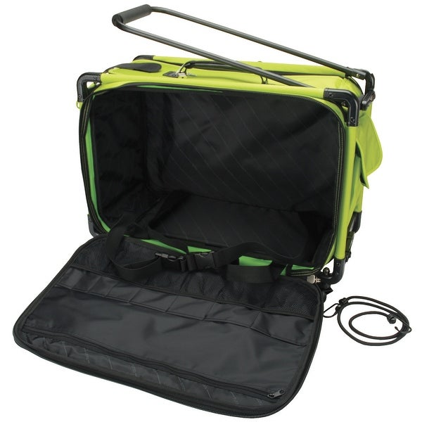 "TUTTO Machine On Wheels Case-23""X15""X12"" Lime"