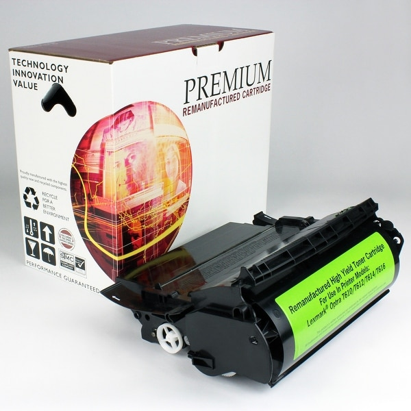 Re Premium Brand replacement for Lexmark Optra T610 Toner (25,000 Yield)