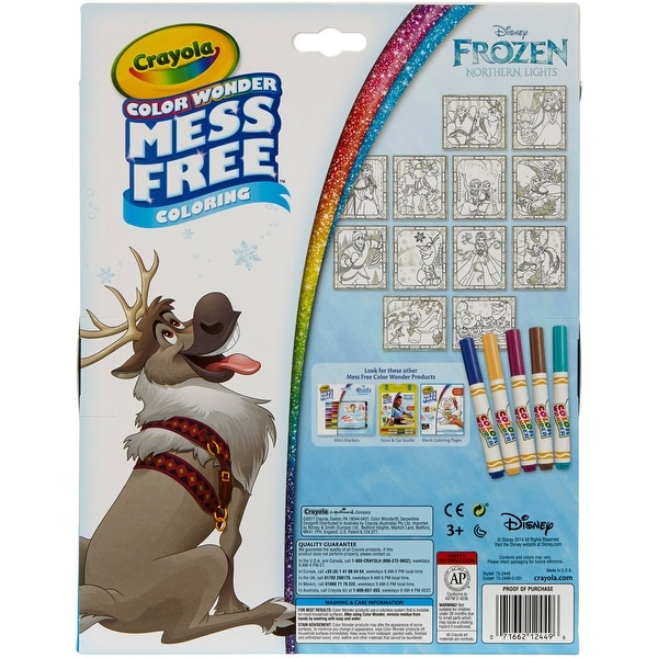 Shop Crayola Color Wonder Glitter Set Frozen Free