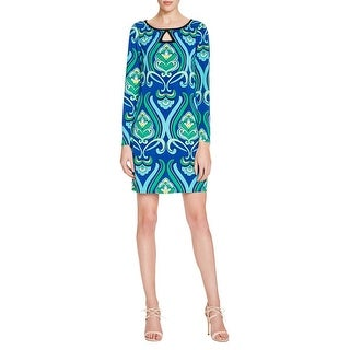 Laundry by Shelli Segal Womens Casual Dress Jersey Printed