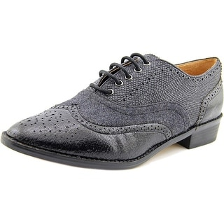 Steve Madden Plee   Round Toe Synthetic  Oxford