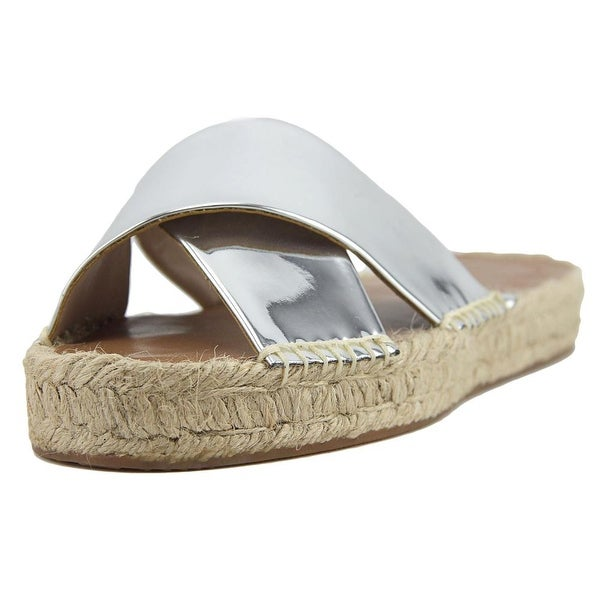 French Connection Luz Silver Sandals