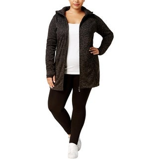 Calvin Klein Performance Womens Plus Athletic Jacket Fall Fitness - 1x