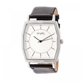 Simplify The 5400 Unisex Quartz Watch, Genuine Leather Band