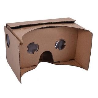 DIY Virtual Reality Box Movie Cardboard 3D VR Glasses for 4.7-6 Inch Smartphone