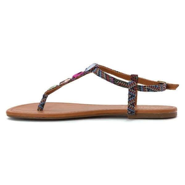 Rampage Womens PIAZZA Casual Gladiator Sandals