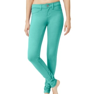 NE PEOPLE Womens Solid Color Basic Jeggings (NEWP77)
