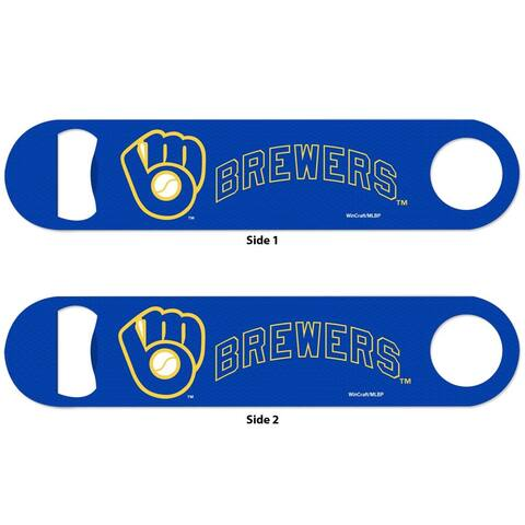 Milwaukee Brewers 2-Sided Metal Bottle Opener