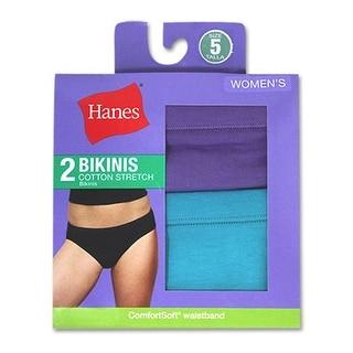 Hanes Women's Cotton Stretch Bikinis - 6