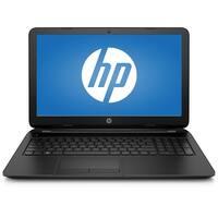 """Refurbished - HP 15-F205DX 15.6"""" Laptop AMD A6-5200 2.0GHz 4GB 500GB Windows 10"""
