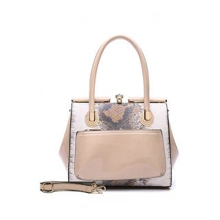 Style Strategy Coral Patent Leather Bag Nude|https://ak1.ostkcdn.com/images/products/is/images/direct/e51b970d4f4cc7dc8e008e42c8c0b106ef7f0637/Style-Strategy-Coral-Patent-Leather-Bag-Nude.jpg?impolicy=medium