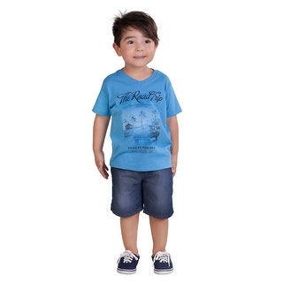 Pulla Bulla Toddler Boy Graphic Tee Short Sleeve Shirt