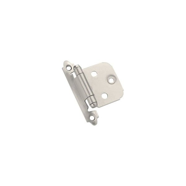 Amerock TEN3429 Self-Closing Face Mount Variable Overlay Hinges - 10 Pack