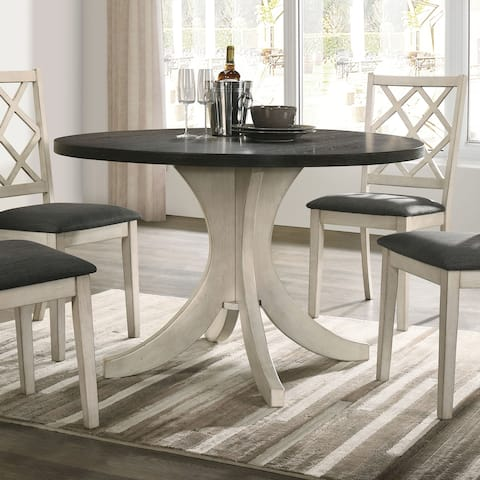 Furniture of America Joyfair Transitional White 47-inch Dining Table