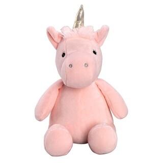 Bedtime Originals Rainbow Unicorn Pink/Gold Plush Unicorn Stuffed Animal - Pearl