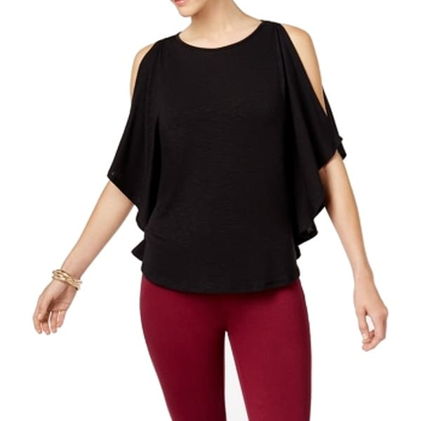Shop Cable   Gauge Women s Large Cutout Sleeves Knit Top - On Sale - Free  Shipping On Orders Over  45 - Overstock - 26925746 7d2f573fa